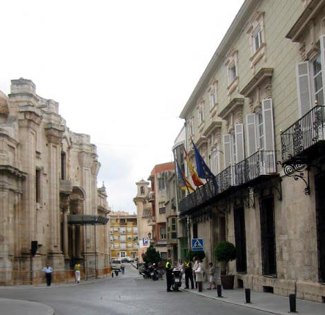 Orihuela Town Costa Blanca Spain