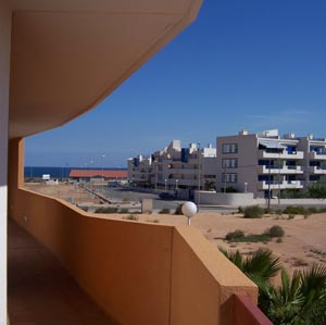 El Rincon view to sea