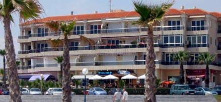 Playa Flamenca beach commercials