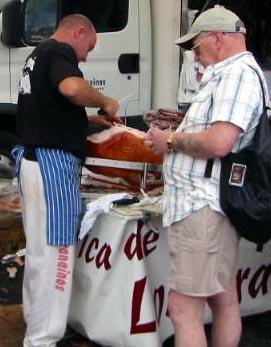 Playa Flamenca street market
